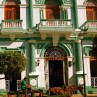 Colonial architecture can be seen in the hotels in Granada