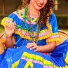 It's common to see colorful dresses and dances at cultural festivals