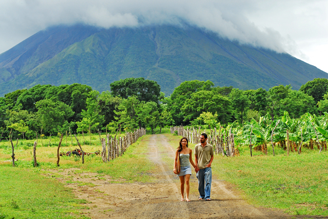 Beautiful scenery abounds in Nicaragua