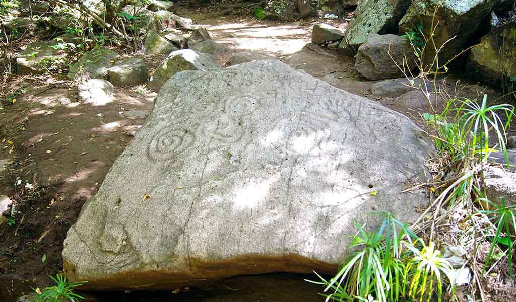 Sanctuary Los Venados petroglyphs.